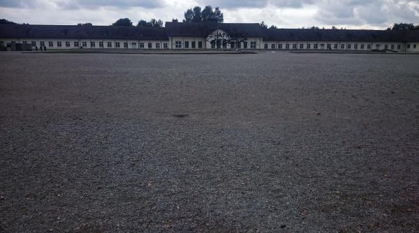 Roll call area, Dachau