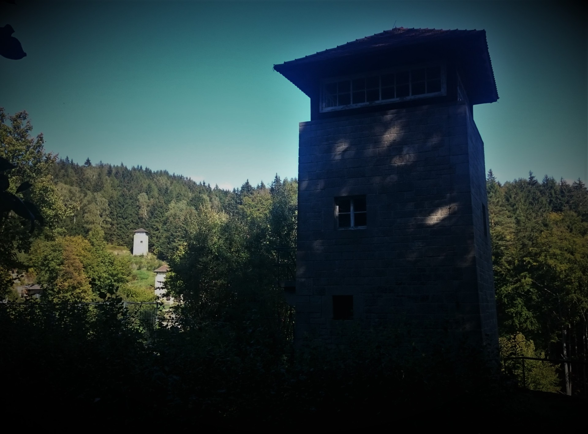Watch towers Flossenburg