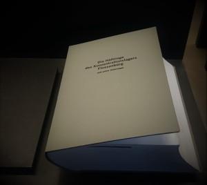 Book with prisoner's names Flossenbürg