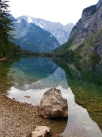 Reflections near Berchtesgaden