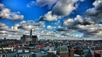 Haarlem from above