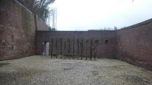 Enclos des Fusillés - enclosure of those shot by firing squad, Citadel de Liége. Blok 24